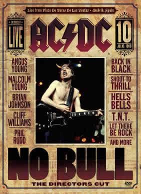 AC/DCPresenta un DVD grabado completamente en Vivo,