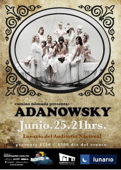 ADANOWSKY25 Junio, Lunario del Auditorio