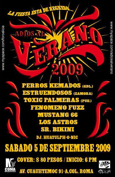 ADIÓS AL VERANO 2009Foro Alicia 5 Sept,