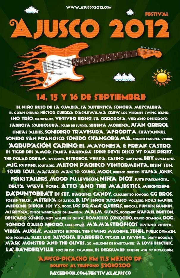 FESTIVAL AJUSCO 2012Mustang, Sonido San Francisco, Juan Cicerol, etc