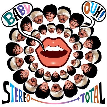 STEREO TOTAL EN GUADALAJARA9 de Septiembre - presentando BABY OUH!