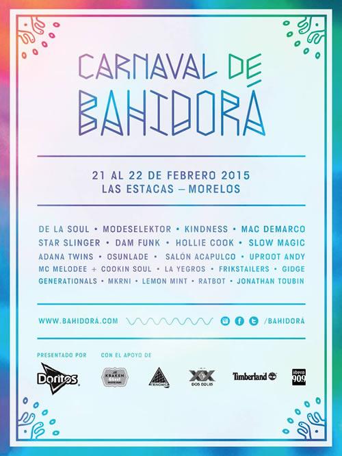 CARNAVAL DE BAHIDORAEn Morelos, 21 y 22 de febrero,