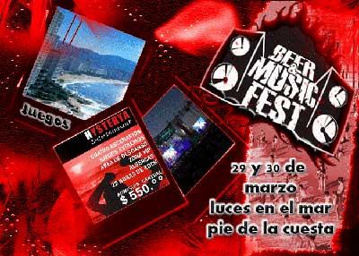 BEER & MUSIC FEST CAMBIA DE FECHA ,