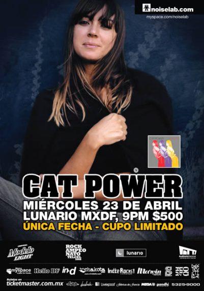 CAT POWER En México ,