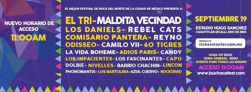 BUCHACA MUSIC 2015 Todo listo para el evento