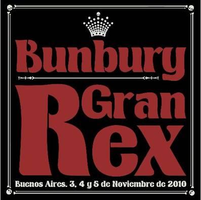 BUNBURYAnuncia su nuevo disco en vivo Gran Rex ,