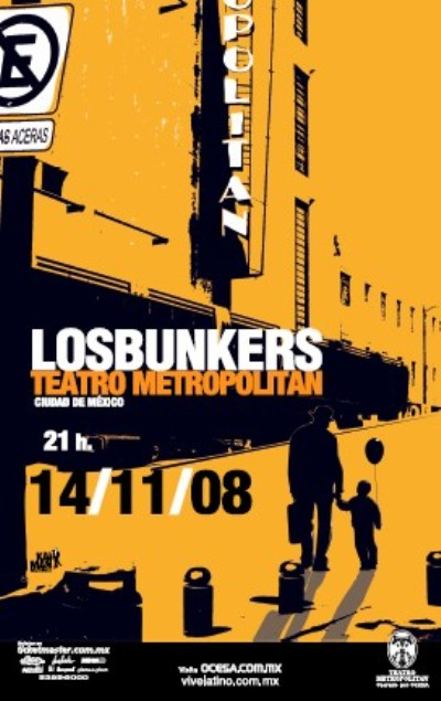 LOS BUNKERSTeatro Metropolitan