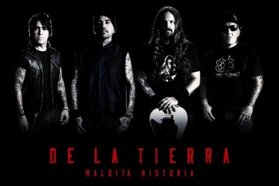DE LA TIERRAAndreas Kisser + Alex González + Sr. Flavio + Andrés Giménez, próximo disco
