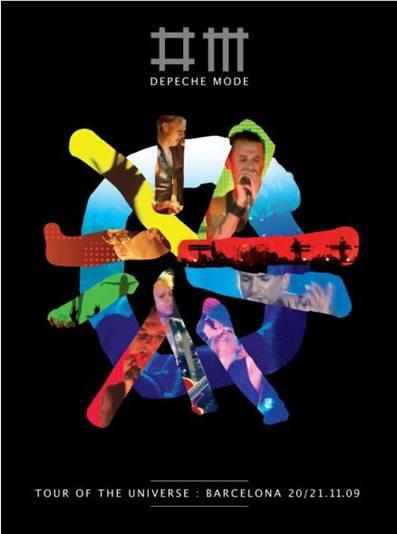 DEPECHE MODELanza dvd  - Live in Barcelona,