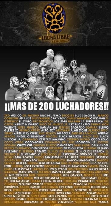 EXPO LUCHA LIBRE 20082OO Luchadores, stands, actividades, bandas en vivo y mas..,