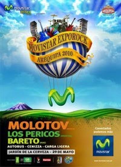 FESTIVAL MOVISTAR Molotov y Los Pericos bandas estelares,