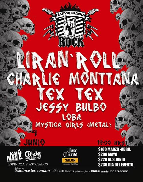 FESTIVAL URBANO 20114 Junio, Liran´ Roll, Tex Tex, Charlie Montana y más,