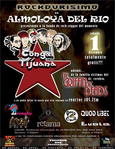 ROCKDURISIMOAlmoloya del Rio - 1 de Diciembre