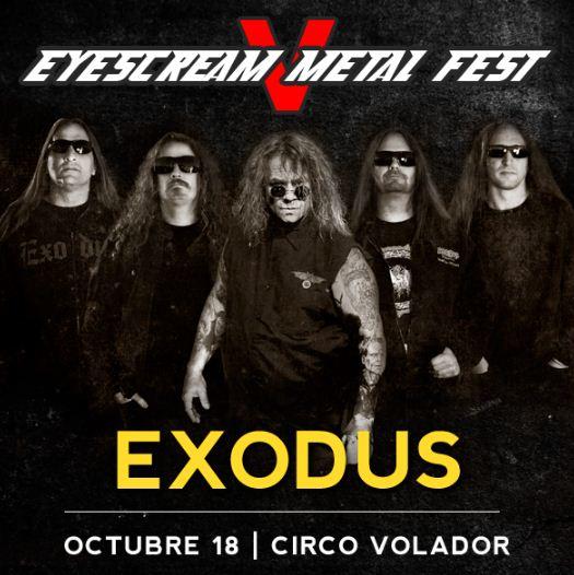 EYESCREAM METAL FEST VCirco Volador - 18 de Octubre