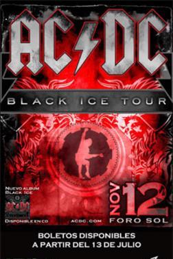 AC/DCLa leyenda del Rock este 12 de Noviembre,