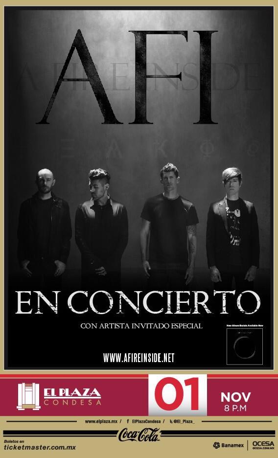 AFIRegresa al Plaza Condesa - 1 de Noviembre,