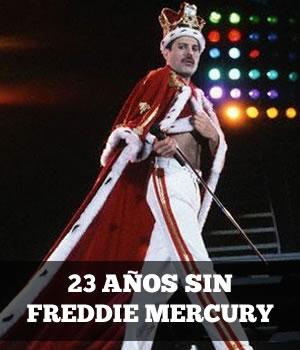 FREDDIE MERCURYA 23 años de su partida,