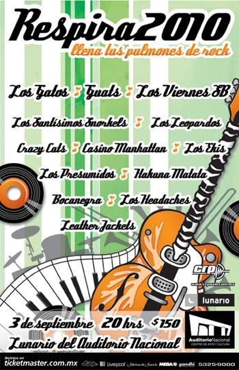 RESPIRA 2010Festival - 3 Septiembre - Lunario,