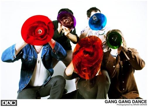 GANG GANG DANCE30 Septiembre - Presentación y Lanzmiento de EYE CONTACT