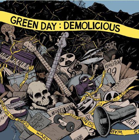 GREEN DAYLanzará 'Demolicius', próximo 19 de Abril
