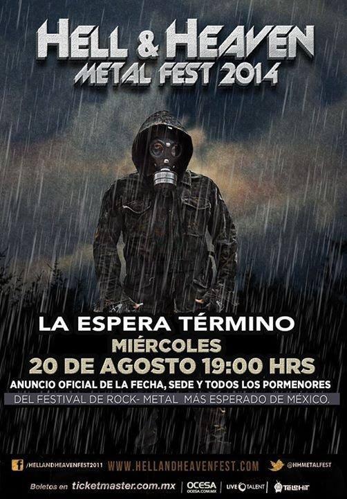 HELL & HEAVEN METAL FEST 2014Música
