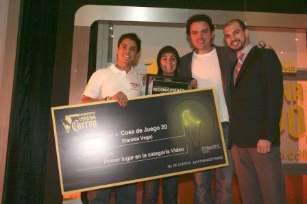 IMAGINA CUERVO 2010Lista de Ganadores