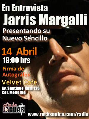 JARRIS MARGALLIEntrevista  y Convivencia con Fans- Martes 14- Abril