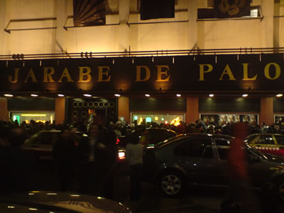 RECICLANDO TOUR DE JARABE DE PALOReseña,