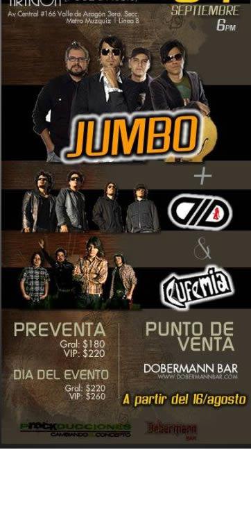 JUMBO Y DLDen Pub Inglés Aragón - 4 Septiembre,