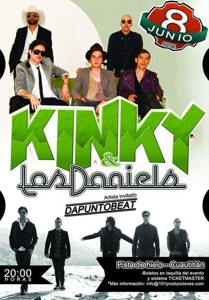 KINKY Y LOS DANIELS8 Junio - Fun Central Cuautitlán