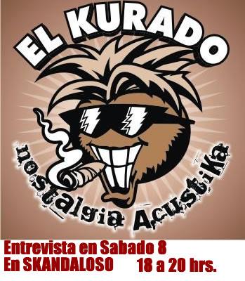KURADO DE COCOEntrevista en SKANDALOSO sabado 8,