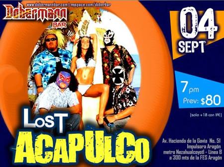 LOST ACAPULCODobermann Bar - 4 Septiembre, Ganadores,
