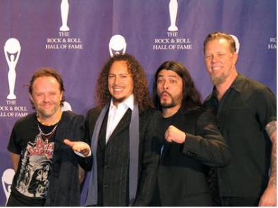 METALLICAEn los premios MTV Latinoamérica