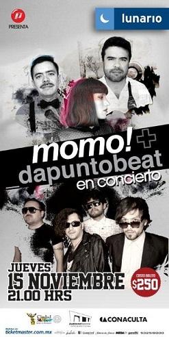 DaPuntoBeat y Momo15 Nov Lunario,