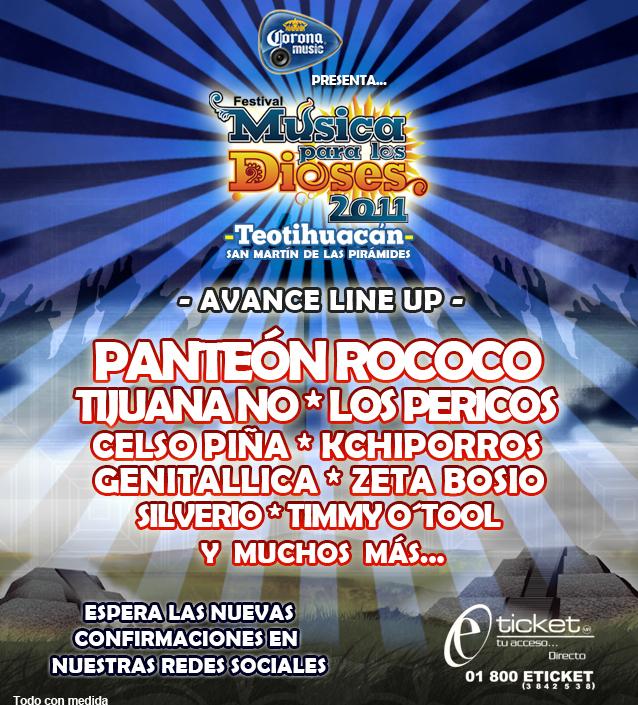 MUSICA PARA LOS DIOSES 20114 y 5 de Noviembre, Teotihuacán