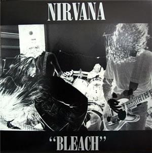 REEDICION DEL BLEACHPrimer disco de Nirvana,