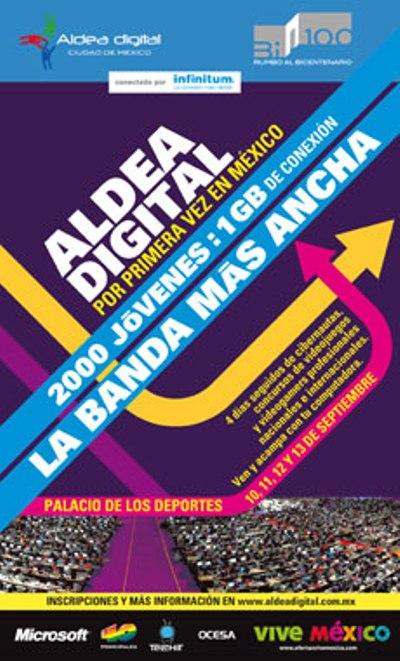 ALDEA DIGITAL DE MEXICOEn el Palacio de los Deportes