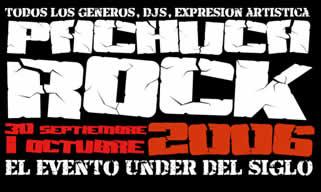 PACHUCA ROCK30 Septiembre,