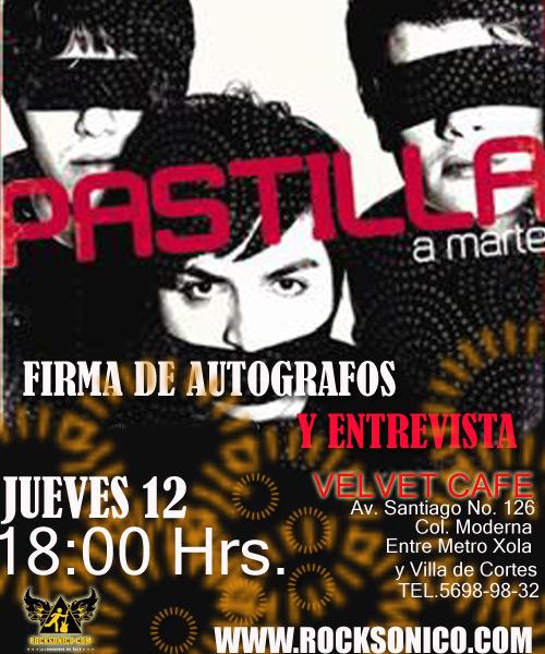 PASTILLAConvivencia y Entrevista - 12 Marzo
