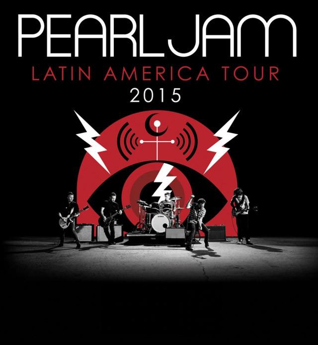 PEARL JAMEn México, gira por América Latina,