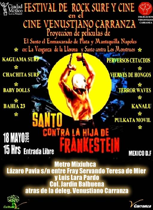 FESITVAL DE SURF Y CINE18 DE MAYO EN VENUSTIANO CARRANZA