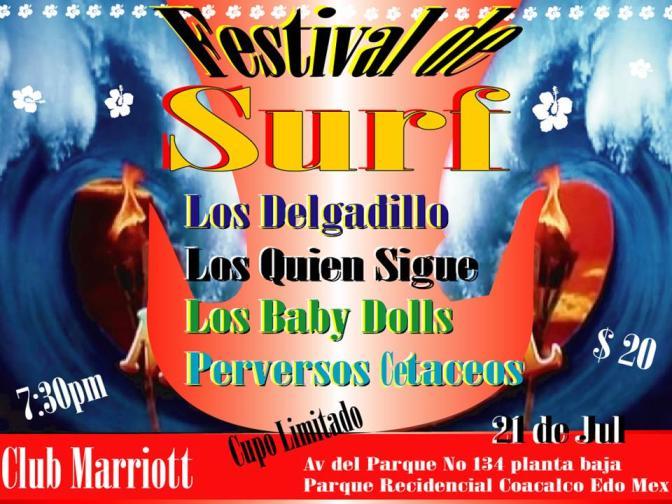 FESTIVAL DE SURF EN EL MARRIOTTEl nuevo espacio para el Surf en México,