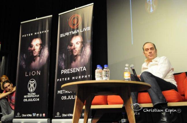 PETER MURPHYVuelve al Teatro Metropolitan a presentar LION,