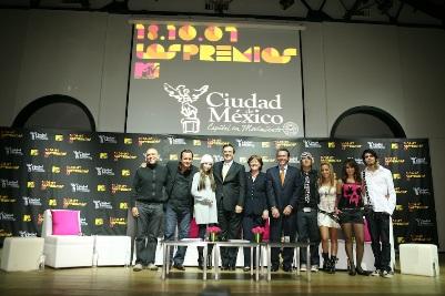 PREMIOS MTV LATINOAMERICA 2007 Regresan a la Ciudad de México