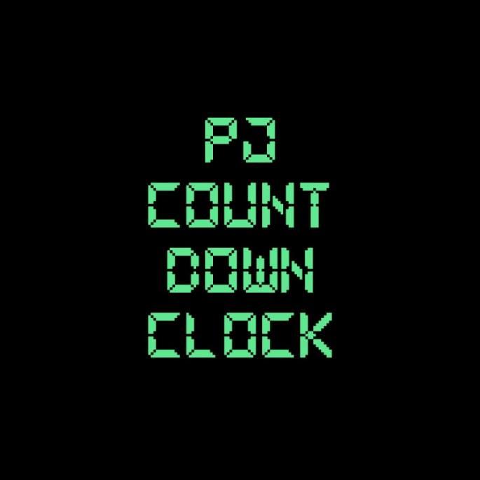 PEARL JAMy su countdown clock,
