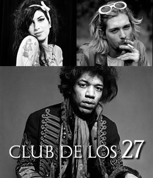 EL CLUB DE LOS 27Una de las circunstancias más curiosas que llaman la atención dentro del rock,