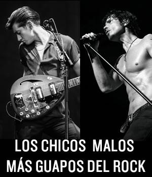 LOS CHICOS MALOS MÁS GUAPOS DEL ROCKUna lista de los chicos rockeros malos, talentosos, y con estilo ,