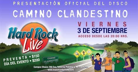 ESTRAMBÓTICOSPresentación de su nuevo disco  'Camino Clandestino'