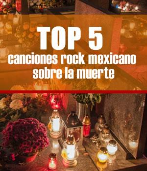 TOP 5 CANCIONES DEL ROCK MEXICANOSobre la muerte, Top 5 canciones del rock mexicano sobre la muerte, Día de muertos canciones rock mexicano, Canciones de Rock para el día de muertos