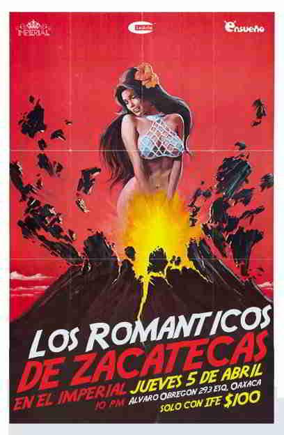LOS ROMANTICOS DE ZACATECASJueves 5 en El Imperial,
